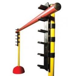 Pieza para regular altura de saltos