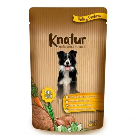 Knatur Pollo y verduras 12u (1caja)